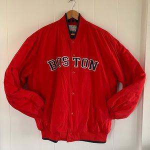MLB Boston Red Sox Baseball Jacket Large